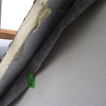 Anschlussdetail Dach-Außenwand