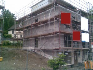 Neubau ohne Brandriegel