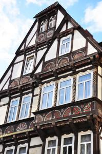 Renaissance-Giebel in Goslar, Quelle: Huber / pixelio.de