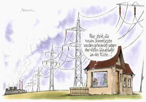 Enteignung für Stromtrassenbau