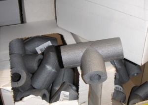 Rohrdämmung-Formstücke