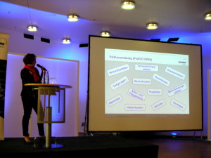 Marion Klein im Vortrag