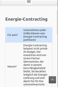 Energiedienstleistung: Energie-Contracting