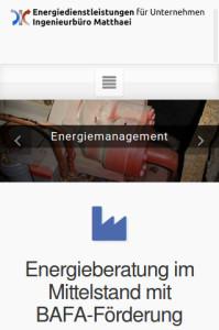 Energiedienstleistung: Mobildarstellung