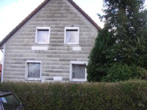 gedämmte Fassade - Aufdoppeln nicht möglich