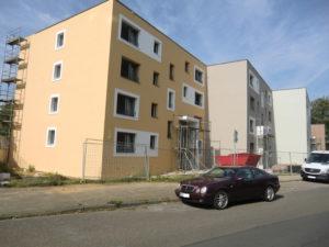 Mehrfamilienhaus im Energiestandard Effizienzhaus 55