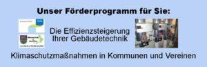 Förderprogramm Kommunen und Vereine_Heizungsoptimierung