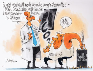 Klimaschutz vom Arzt nicht verordnet